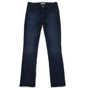 ANN TAYLOR LOFT Blue Modern Straight Jeans 28/6
